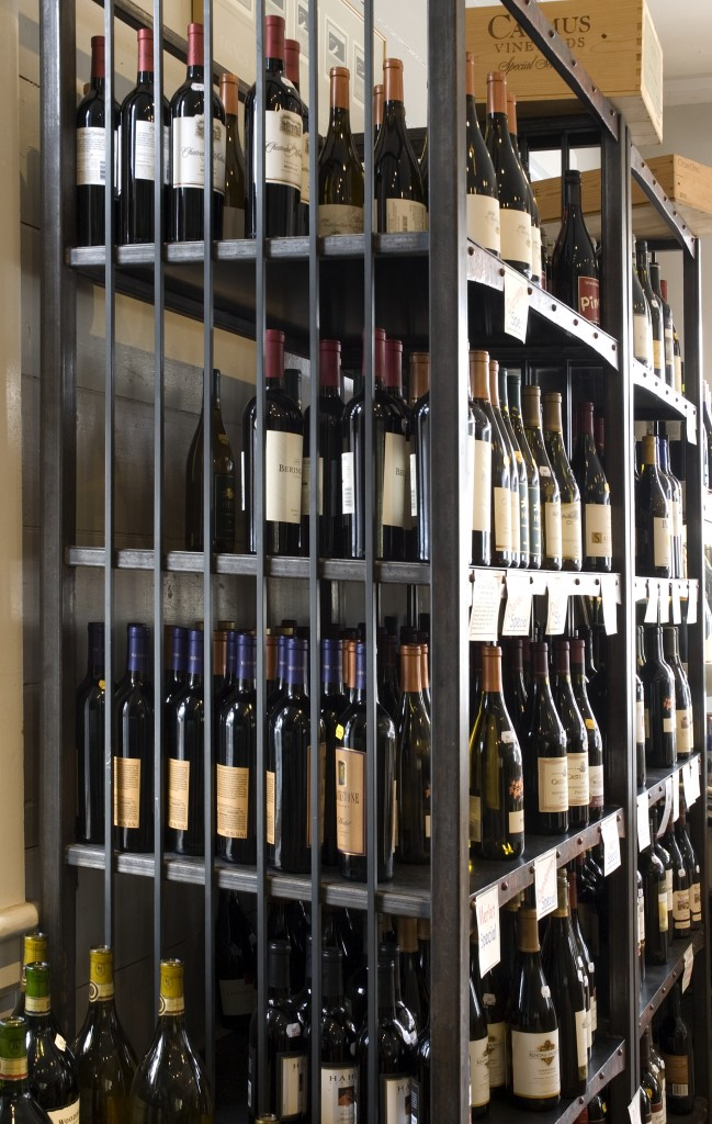 Wine Shop Shelves