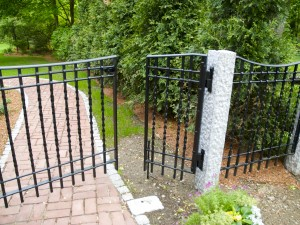 Forged Garden Fence