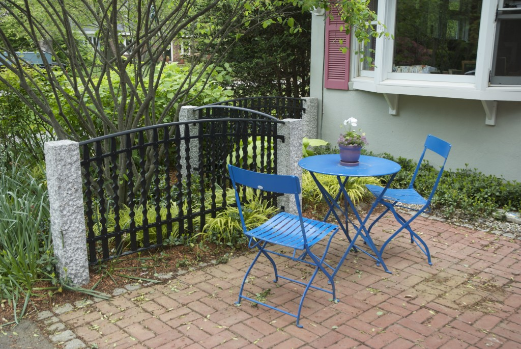 Small Patio View