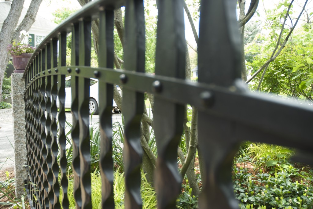 Small Patio Fence Detail