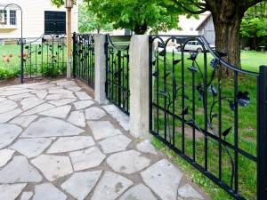 Hyacinth Fence