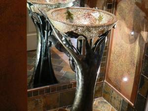 Bathroom Sink Pedestal and Accessories