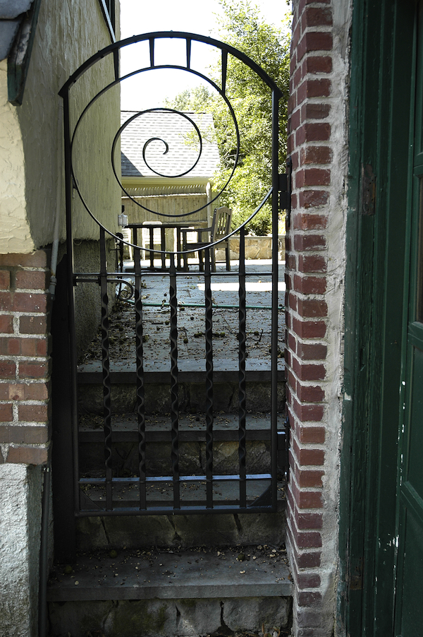 Artisan Iron 187 Urban Back Garden Gate
