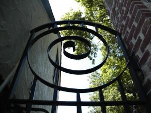Urban Back Garden Gate