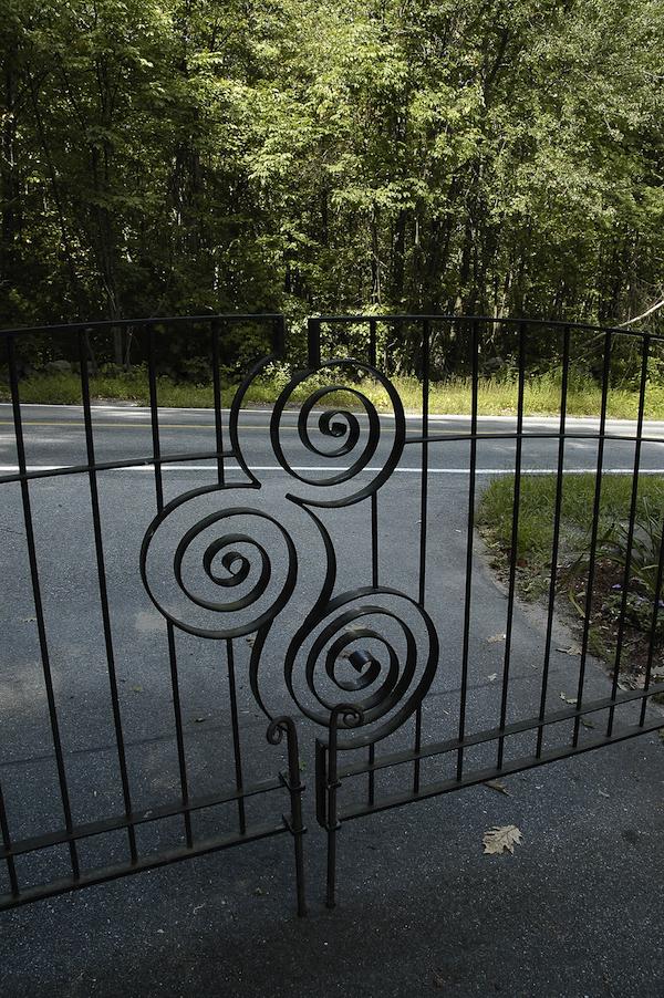 Driveway Gate Detail