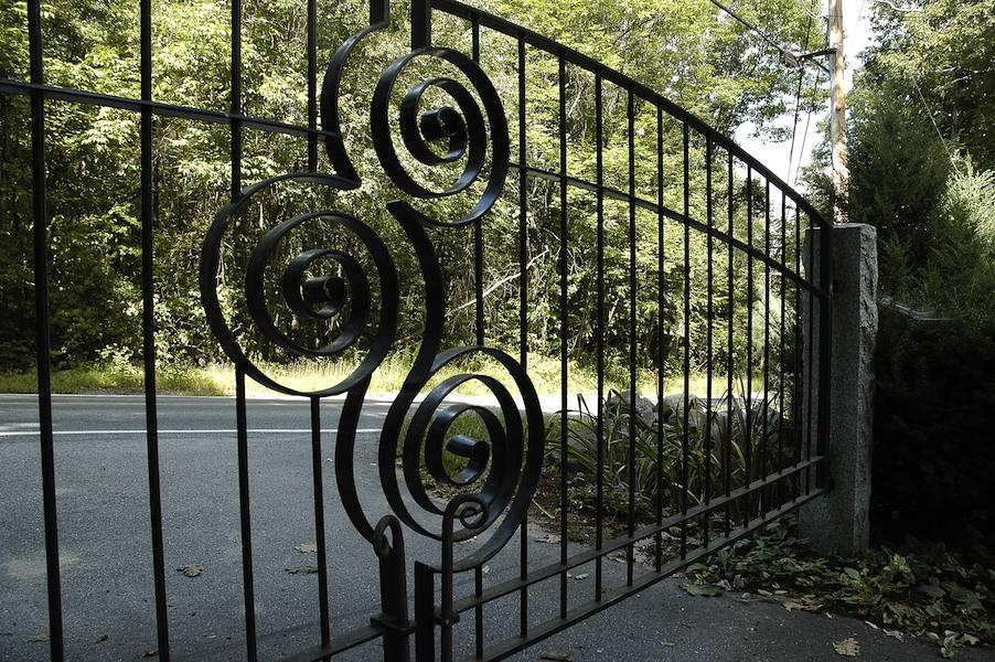 Spiral Gate Detail