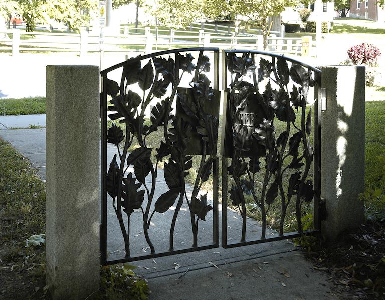 Gate Rear View