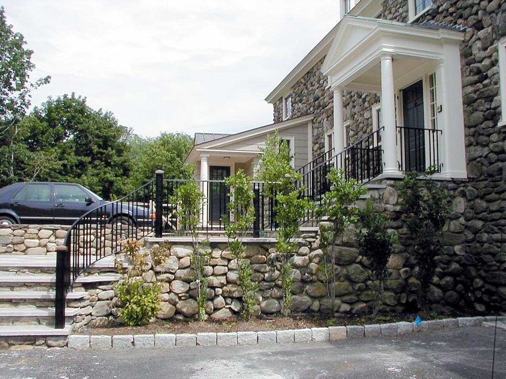 Stone House Railing 2