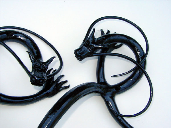 dragons handle detail