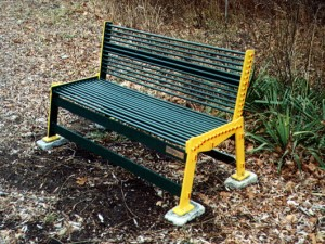 Rail Trail Bench