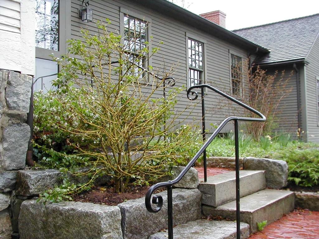 shaker railing