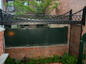 Beacon Hill Courtyard Arbor